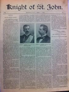 KSJ Journal Issue 1 1896